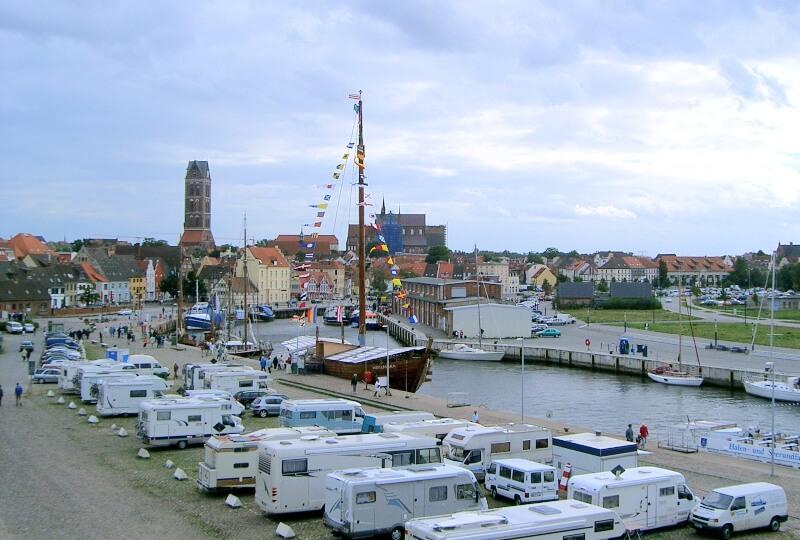 Wismar am Hafen